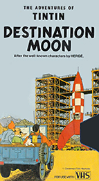 Coverscan of The Adventures of Tintin: Destination Moon