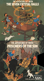 Coverscan of The Adventures of Tintin: The Seven Crystal Balls & Prisoners of the Sun