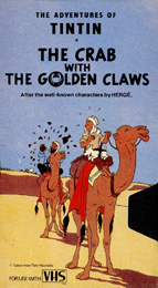 Coverscan of The Adventures of Tintin: The Crab with the Golden Claws