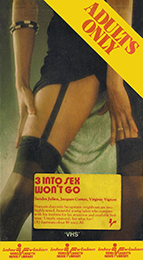 Coverscan of 3 Into Sex Won't Go