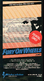 Coverscan of Fury on Wheels