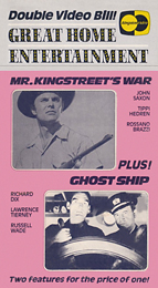 Coverscan of Mr. Kingstreet's War