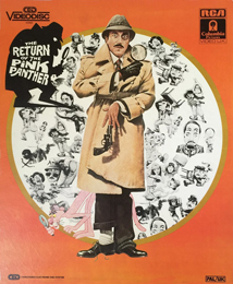 Coverscan of The Return of the Pink Panther