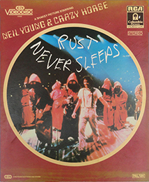 Coverscan of Neil Young & Crazy Horse - Rust Never Sleeps