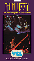 Coverscan of Thin Lizzy: Live and Dangerous - In Concert
